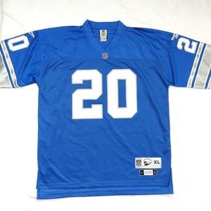 Barry Sanders #20 Detroit Lions Throwback Jersey